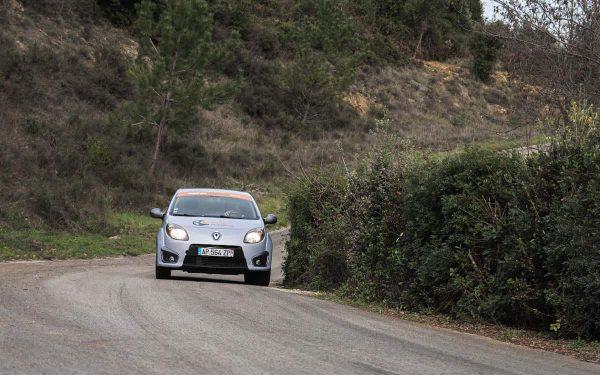 Rallye Académie Ales Baptême Rallye 2 tours Twingo RS Asphalte