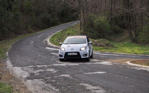 Baptême Rallye 2 tours Twingo RS Asphalte