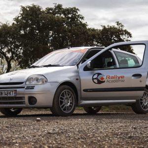 Stage Rallye découverte 4 tours Clio RS Terre Rallye Academie Alès