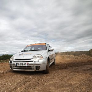 Stage perfectionnement 16 tours Clio RS Terre Rallye Academie Alès
