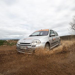 Baptême Rallye 2 tours Clio RS Terre Rallye Academie Ales 2