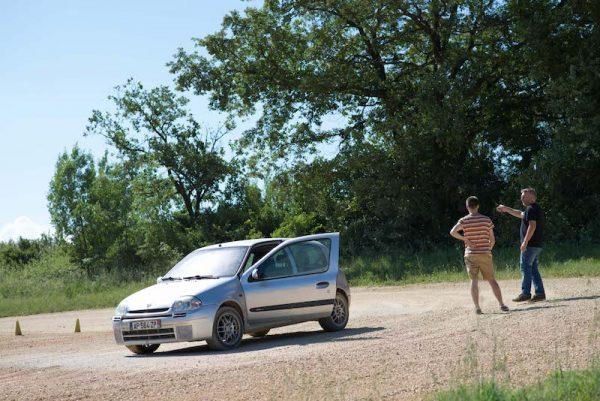 Coaching en Solo Terre ½ journée avec Rallye Académie Circuit Alès Gard