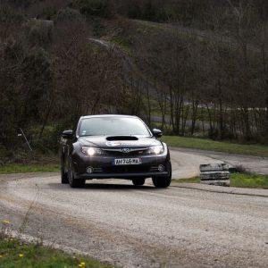 Rallye Academie Ales Stage découverte Asphalte Subaru Sti 4WD