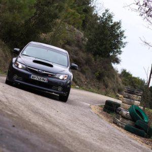 Stage maitrise 8 tours Subaru Sti Asphalte Rallye Academie