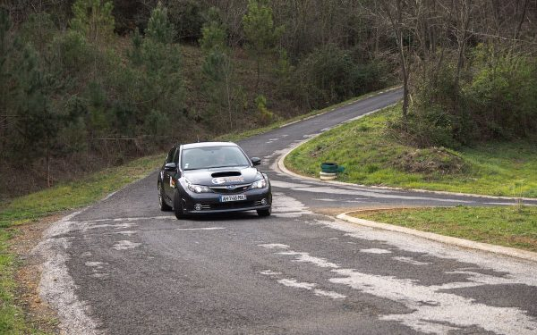 Baptême Rallye 2 tours Subaru Sti Asphalte Rallye Academie Ales 2