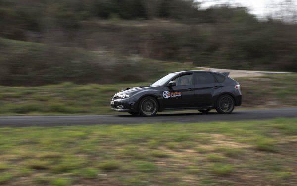 Baptême Rallye 2 tours Subaru Sti Asphalte Rallye Academie Ales