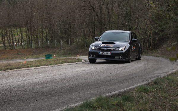Stage maitrise 8 tours Subaru Sti Asphalte Rallye Academie 2