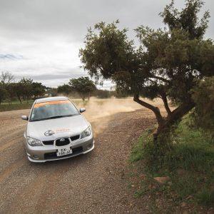 Coaching Terre en duo sur une ½ journée Subaru Rallye Académie