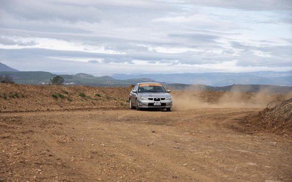 Stage maitrise Subaru 2.0 R 8 tours terre Rallye Academie Circuit Alès 2