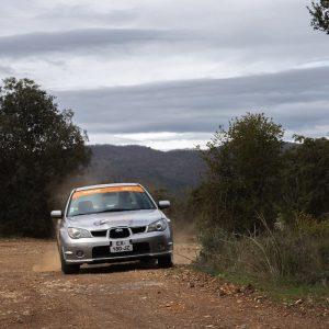 Stage maitrise Subaru 2.0 R 8 tours terre Rallye Academie Circuit Alès