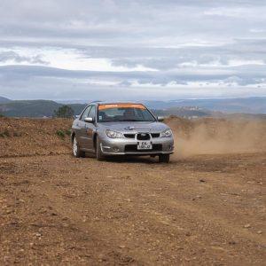 Baptême Rallye 2 tours Subaru 2.0 Terre Rallye Academie Ales