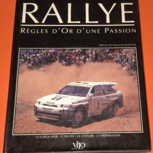 Livre sur le pilotage rallye et la règlementations rallye