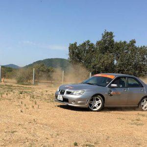 Stage rallye terre Subaru Saint Brès 5